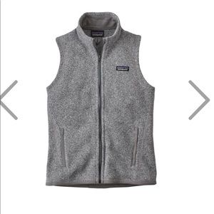 Patagonia women's better sweater weather vest S